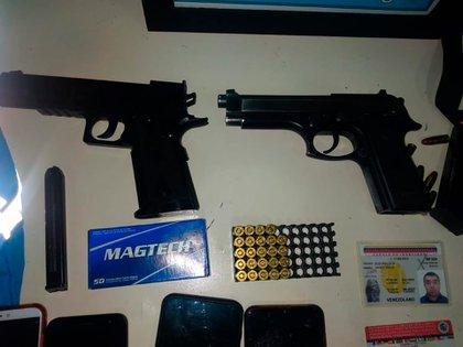 Los ladrones fueron atrapados a tres cuadras de donde habían robado recientemente