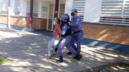 Gabriela Neme, concejala formoseña, fue detenida por protestar contra la cuarentena
