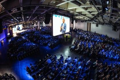 El evento Google Cloud Next se lleva a cabo en San Francisco.