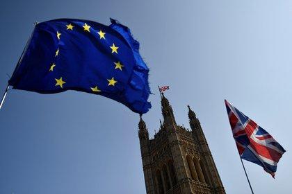 """La facción más conservadora del Partido Conservador británico advirtió el miércoles que se debe proteger un acuerdo de Brexit con la Unión Europea (UE). """"Soberanía"""" Del Reino Unido.  EFE / Neil Hall / Archivo"""