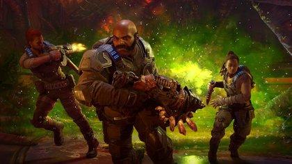 Mac, Keegan y Lahni: los grandes protagonistas de Hivebusters.