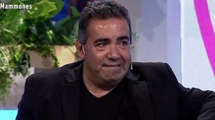 """El llanto de Diego Pérez al recordar el momento en que tuvo que reemplazar a Carlín Calvo tras sus segundo ACV: """"Fue muy fuerte para mí"""""""