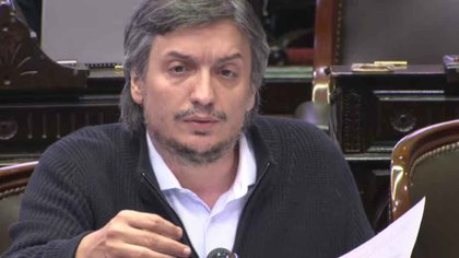 Maximo Kirchner - diputados  (1)