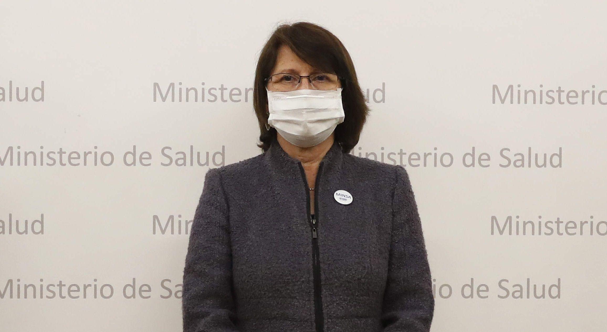 En la imagen la ministra de Salud de Perú, Pilar Mazzetti. EFE/Paolo Aguilar/Archivo