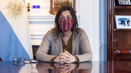 La ministra de Seguridad Sabina Frederic (Adrián Escandar)