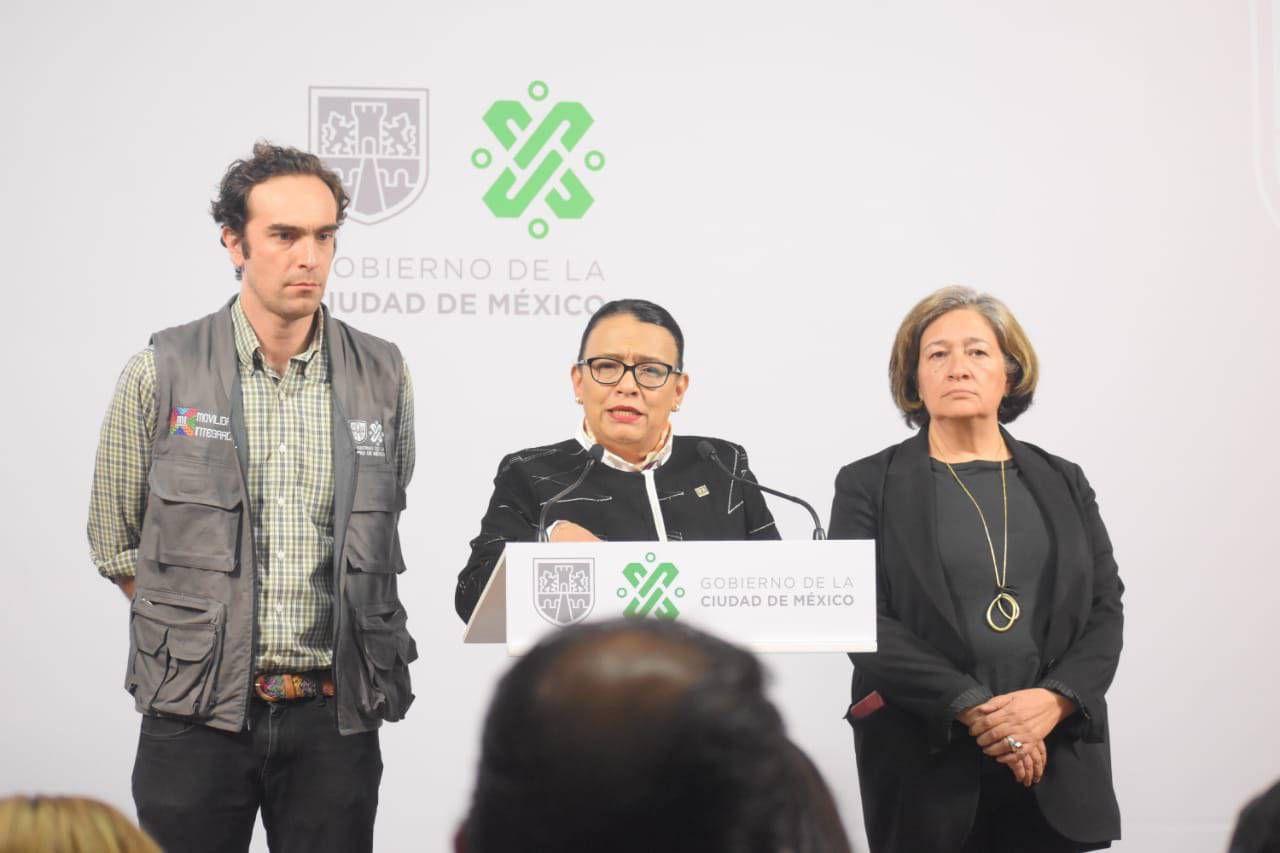 Rosa Icela Rodríguez lamentó la muerte un hombre por el choque en el metro Tacubaya (Foto: Twitter/ @rosaicela_)