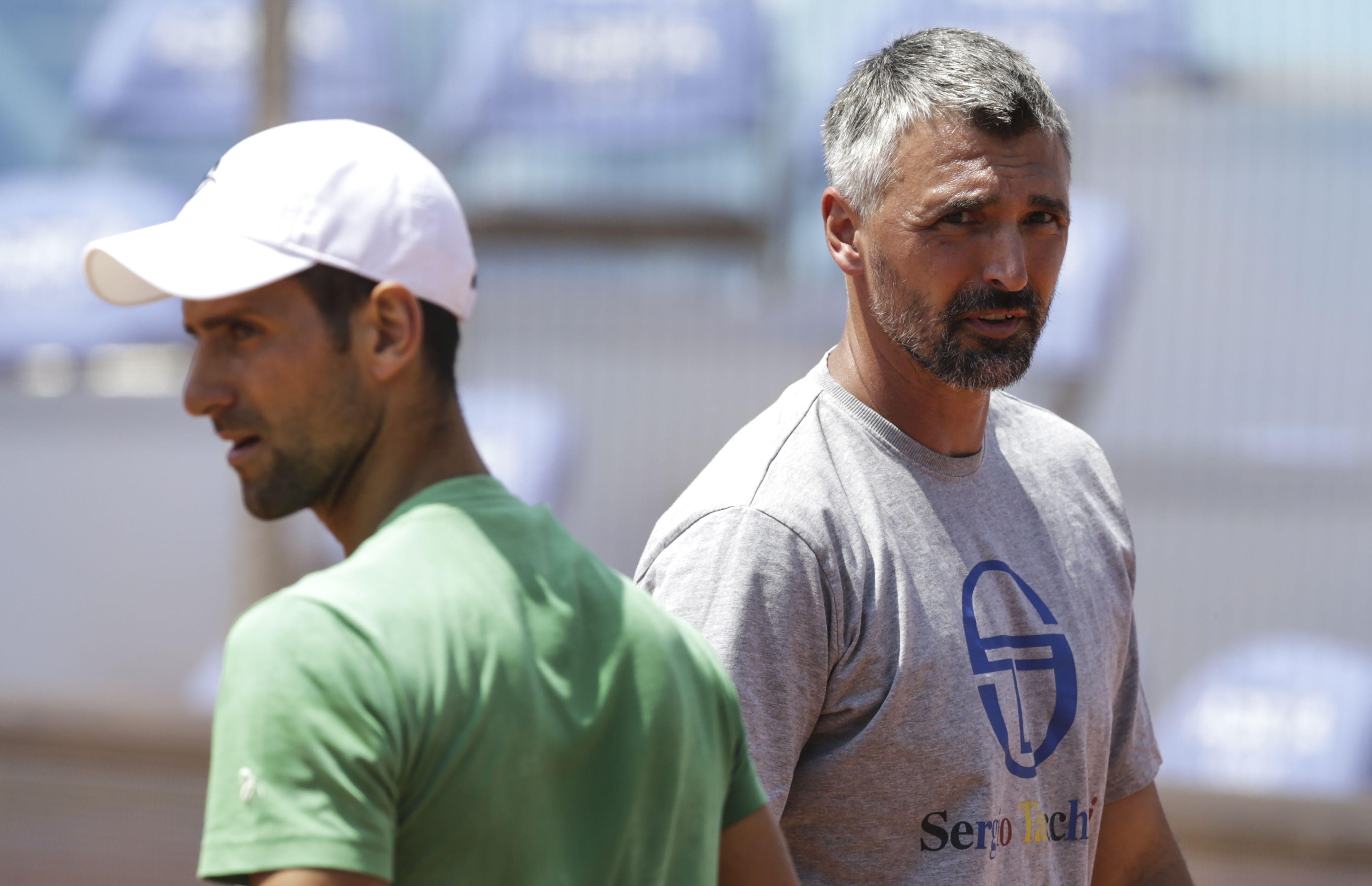 El ex tenista croata elevó la temperatura de la final entre Djokovic y Nadal en Roland Garros (EFE/EPA/ANDREJ CUKIC)