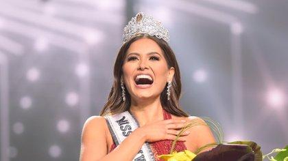 """""""Debimos cuidar a nuestra gente"""": el duro mensaje en Miss Universo de Andrea Meza por las muertes COVID-19 en México"""