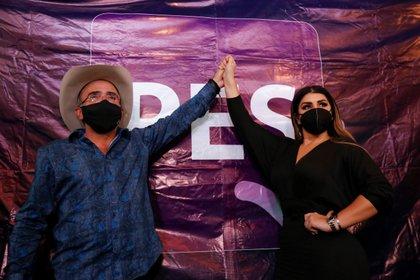 Mariana González también entrará de lleno a la política y lo hará por el distrito 3, ubicado en Tepatitlán de Morelos (Foto: EFE/ Francisco Guasco)