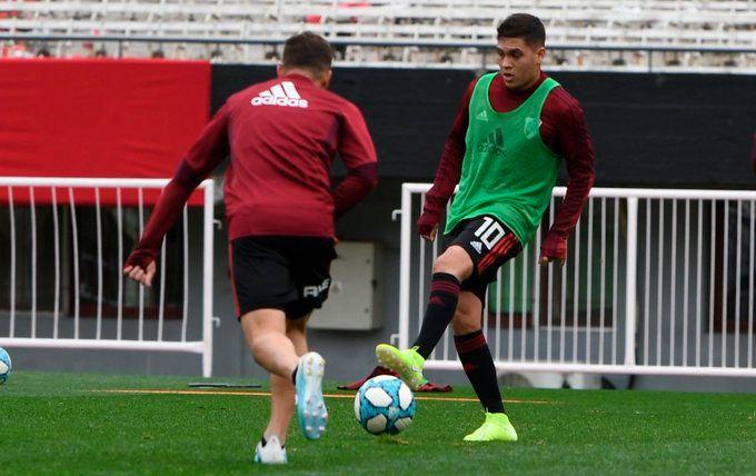 Juanfer reaparecerá esta noche ante Almagro por Copa Argentina (River Plate)