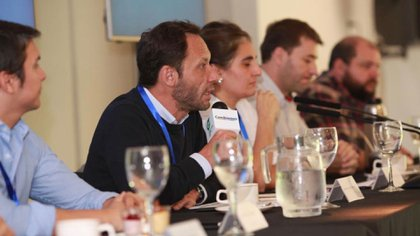 Maximiliano Ferraro, presidente de la CC ARI