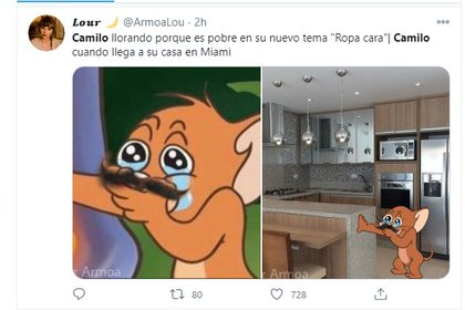 Social networks were flooded with memes for what was supposed to be the content of the new song of the paisa.