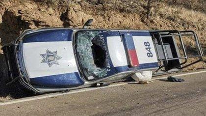 El pasado 14 de diciembre ocurrió un ataque en el mismo municipio y una camioneta a medio volcar quedó al lado de la vía (Foto: Facebook@acontcimientos)