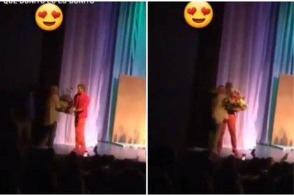 Baeva tuvo un detalle romántico con Gabriel Soto (Instagram: team_baeva_soto)