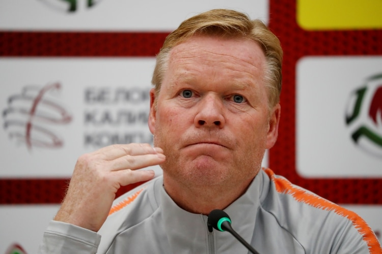Ronald Koeman es el máximo favorito al cargo en el Barcelona (Foto: Reuters)