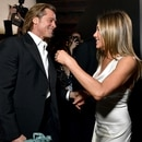 LOS ANGELES, CALIFORNIA - JANUARY 19: Brad Pitt and Jennifer Aniston attend the 26th Annual Screen ActorsGuild Awards at The Shrine Auditorium on January 19, 2020 in Los Angeles, California. 721313 Emma McIntyre/Getty Images for Turner/AFP