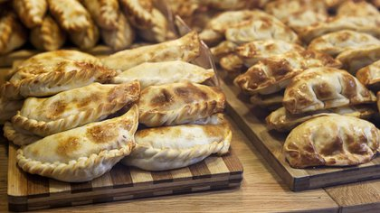Empanadas, una comida típica argentina y que tiene muchas variantes según el gusto y la región del país. Hoy es casi un producto de exportación.(Getty Images)