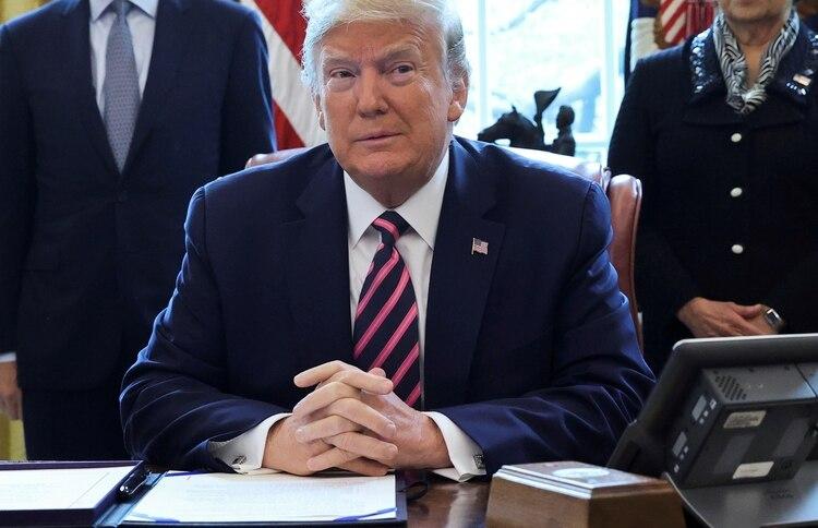 El presidente de los Estados Unidos, Donald Trump. Foto: REUTERS/Jonathan Ernst