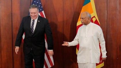 Sri Lanka presentó una visión sin compromisos hacia Washington o Beijing (Eranga Jayawardena/REUTERS)