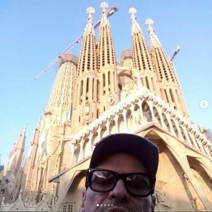 Belloso recorrió Barcelona, entre otras ciudades, realizando una gira teatral (Foto: Instagram)