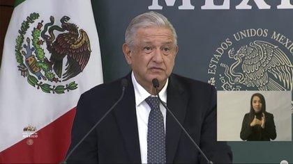 López Obrador en Mexicali (Foto: Captura de pantalla)