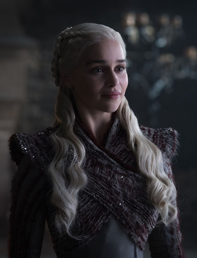 Emilia Clarke como Daenerys Targaryen (HBO)