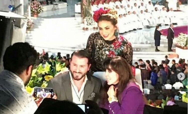 El cirujano posó junto a Aracely Arámbula y Verónica Castro (Foto: instagram)