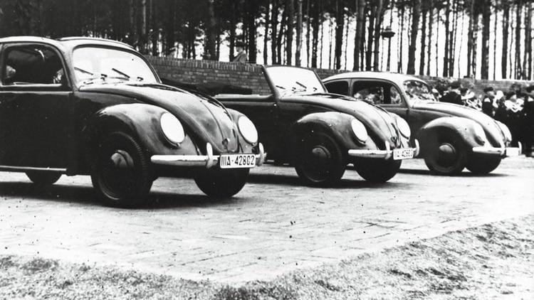 El Escarabajo original, en los tiempos posteriores a la Segunda Guerra Mundial. (Volkswagen)