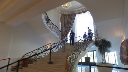 La casa de Miguel Alemán fue donde habitó Enrique Peña Nieto y su familia (Foto: Juan Vicente Manrique)
