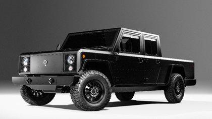 Como una Land Rover Defender, así es el diseño de Bollinger.