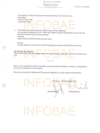 """""""Familia Báez"""", la primera mención en un documento de Suiza."""