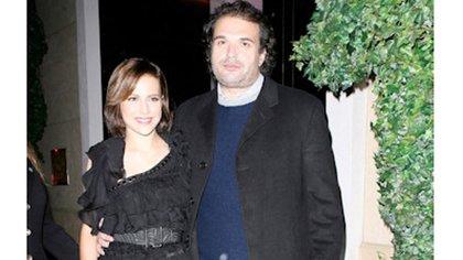 Brittany Murphy y esposo