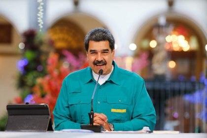 """Nicolás Maduro promulgó la """"ley contra el odio"""" del régimen el 8 de noviembre de 2017, hace ya tres años. Sirvió para acallar a los críticos de su dictadura (Europa Press)"""