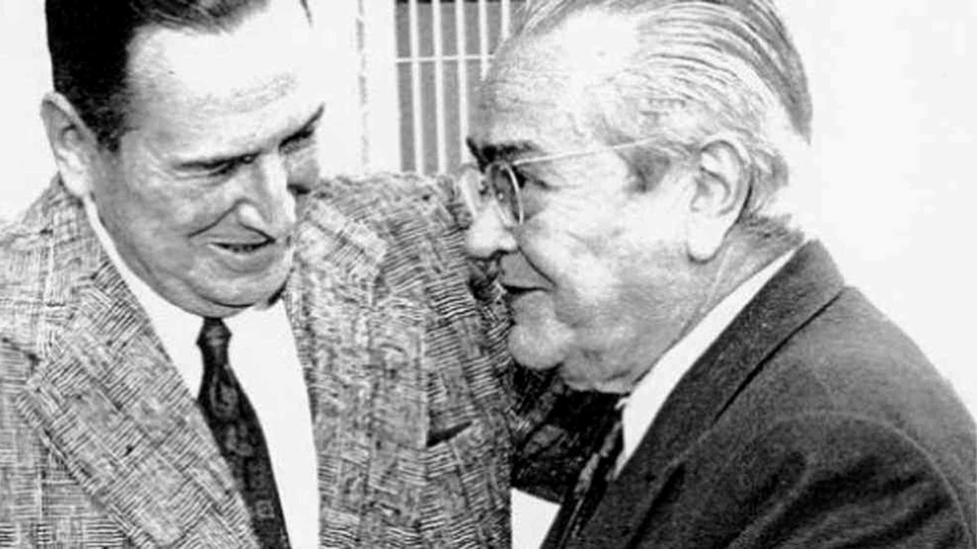 El 19 de noviembre de 1972, en la residencia de Gaspar Campos, Perón y Bablín se dieron el histórico abrazo