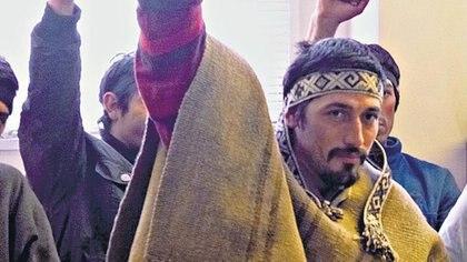 Facundo Jones Huala se encuentra cumpliendo una condena en una cárcel de Temuco, Chile