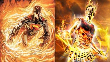 Superman y Helios