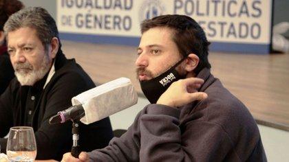 Gerardo Martínez, de la UOCRA, y Juan Grabois, de la CTEP