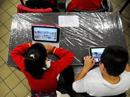 Al cabo de tres años, el programa insignia de Peña Nieto en la educación desapareció debido a un recorte presupuestal de la Secretaría de Educación Pública. (Foto: Saúl López/Cuartoscuro)