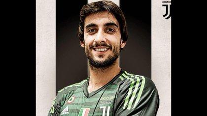 Mattia Perin llegó a Juventus para reemplazar a Gianluigi Buffon