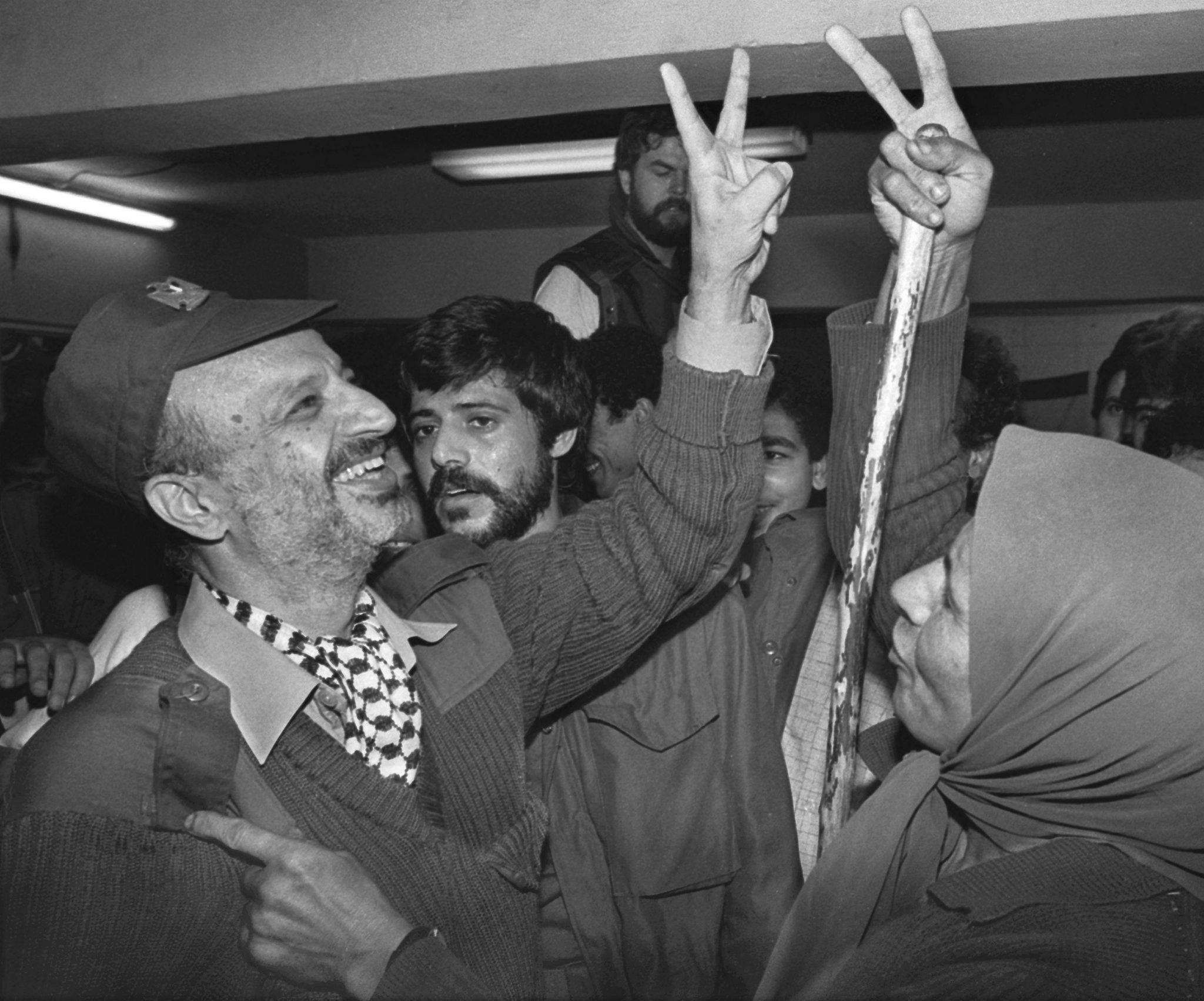 El líder de la OLP, Yaser Arafat. EPA/JIM HOLLANDER B/W ONLY/Archivo