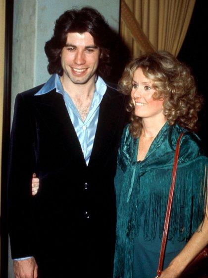 John Travolta y Diana Hyland (Shutterstock)