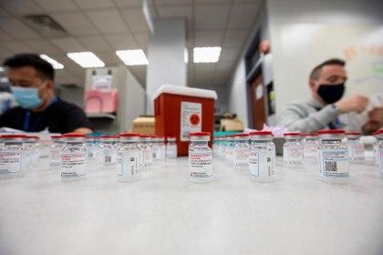 La Vacuna de Moderna demostró eficacia del 90% tras la autorización de diciembre REUTERS/Carlos Osorio