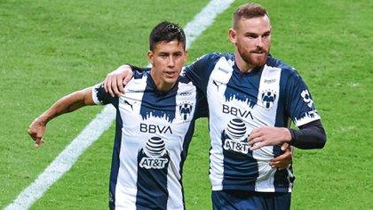 Vincent Janssen anotó el segundo gol de Rayados de Monterrey, lo que los tenía con un pie y medio en la Liguilla (Foto: Twitter/ @Rayados)