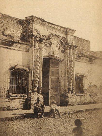 La foto histórica tomada por Ángel Paganelli en 1869