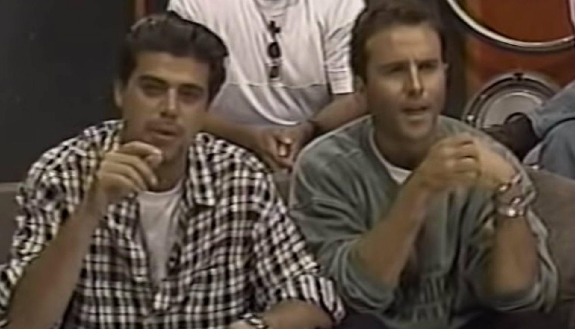 "Jorge ""El Burro"" Van Rankin y Esteban Arce (Captura YouTube)"