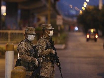 Militares del Ejército de Perú (Europa Press)
