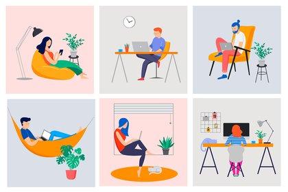 Lo paradójico es que perdimos muchas de las cosas que nos quejábamos previamente, como tiempo en la oficina, y ganamos mucho de lo que nos quejábamos de que nos faltaba, como tiempo en casa (Shutterstock)
