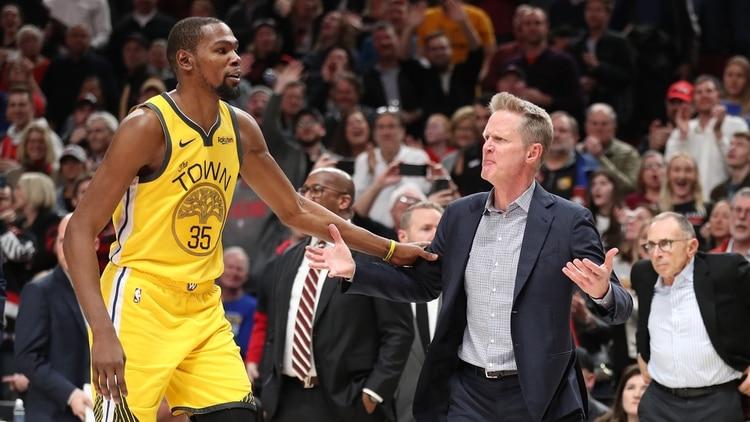 El insólito pedido de Kevin Durant a la NBA