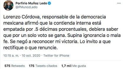 (Foto: Twitter@PMunozLedo)