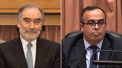 Leopoldo Bruglia y Pablo Bertuzzi decidieron pedir una nueva licencia